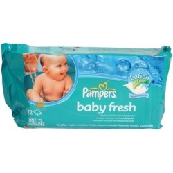Lingettes baby fresh Pampers 64U