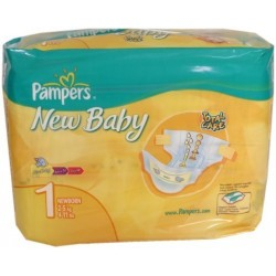 Pampers  New Baby 2/5Kg 27U