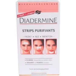 Diadermine Strips purifiants x6 1U