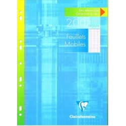 Feuillets mobiles A4 perfor