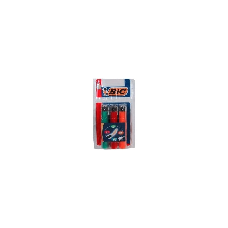 Briquet jetable BiC 3U