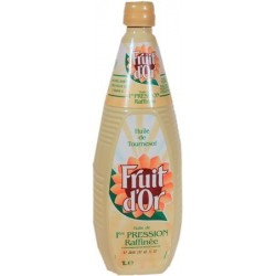 Huile de tournesol Fruit d'Or 1L