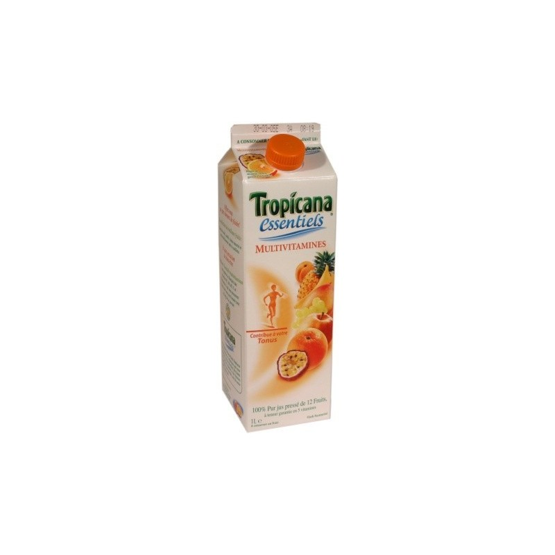 Tropicana Multivitamines 100% pur jus press