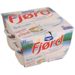 Fjord Danone 10%MG - pots individuels x125g 1Kg