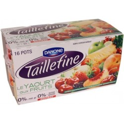 Danone Taillefine avec des fruits 0%MG 16x125g  50kcal 2Kg
