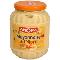 Mayonnaise au tournesol Amora - grand bocal 725g