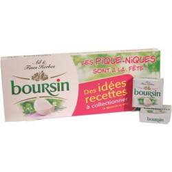 Boursin ail et fines herbes - portions x10 160g