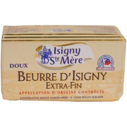 Beurre doux Extra-fin d Isigny Sainte M