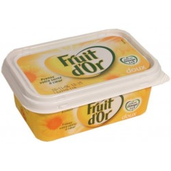 Margarine Fruit d Or tournesol vitamine E et F 80%MG 250g