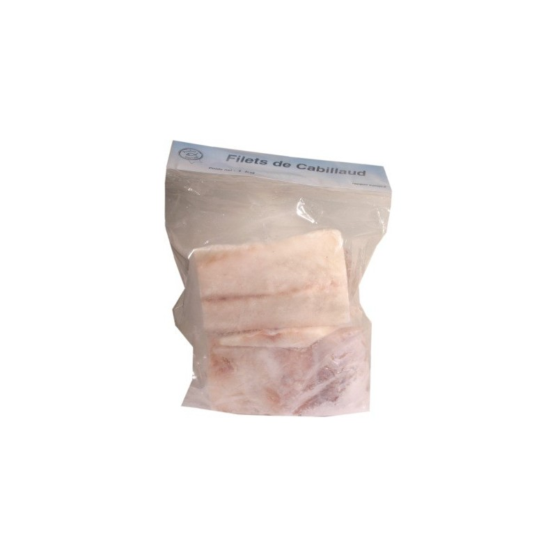 Filets de cabillaud 1Kg