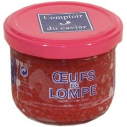 Oeufs de Lompe  Rouges - verrine