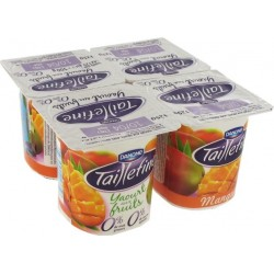 Danone Taillefine 0%MG mangue 4x125g  49kcal 500g
