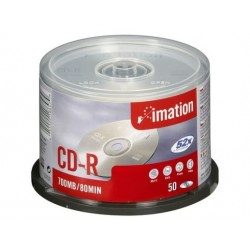 CD-R Imation 700MB/80mn 52x sprindle 25U