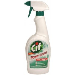Cif Power Cream avec Javel - pistolet 750ml