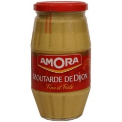 Moutarde de Dijon Fine et Forte Amora - grand bocal 440g