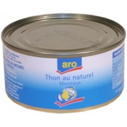 Thon au naturel Aro 185g