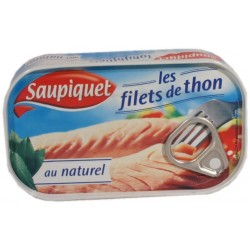 Filets de thon au naturel Saupiquet 69g
