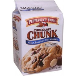 Cookies Pepperidge Farm Chocolate Chunk Macadamia Sausalito 206g