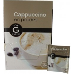 Gamme Pro: Cappuccino poudre Gilbert 100 sachets 3Kg