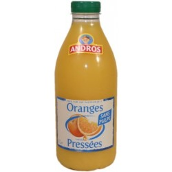 Andros Jus Oranges Douces sans pulpe 1L