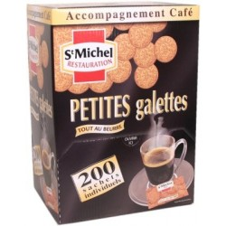 Gamme Pro: Petites Galettes St Michel - emballages individuels 200U 600g