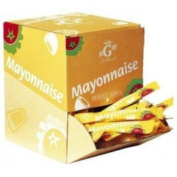 Gamme Pro: Mayonnaise 100 sticks 12ml 1.2Kg