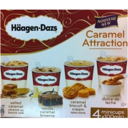 Caramel Attraction (salted caramel, dulche leche, ..) HD 4x100ml 400ml