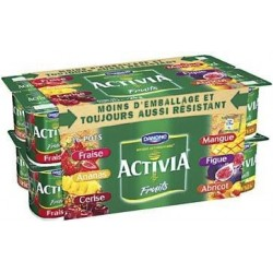 Activia Fruits panachés...