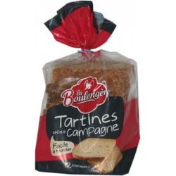 Tartines Campagne pains...
