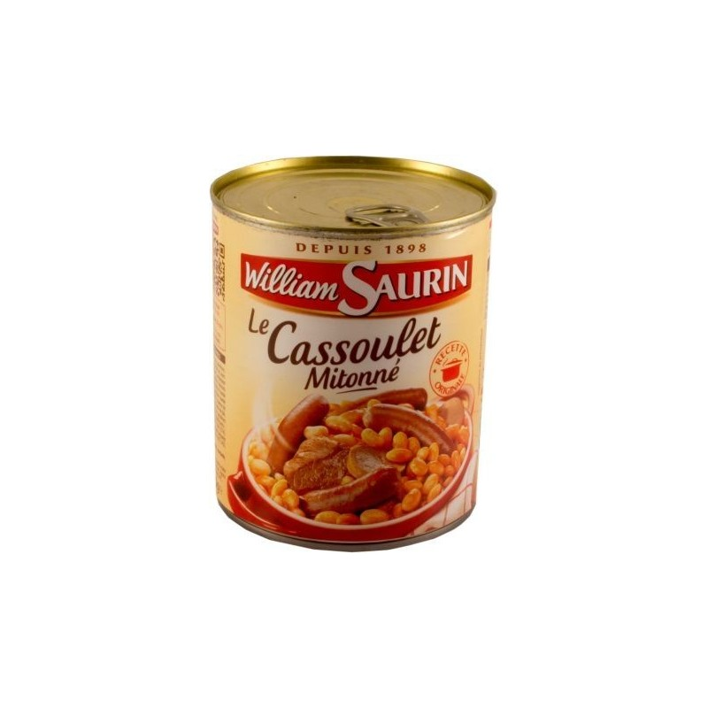 Cassoulet Mitonné William Saurin  840g