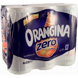Orangina Light boîtes...