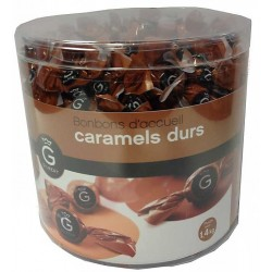 Gamme Pro: Caramels durs...