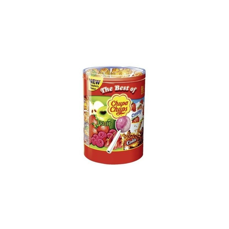 Chupa Chups The Best Of - 150 sucettes assorties 1,8Kg