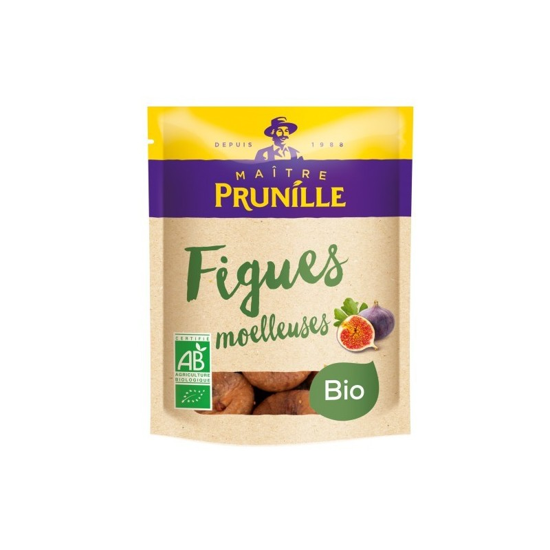Figues sèches moelleuses Label Bio Maitre Prunille 250g