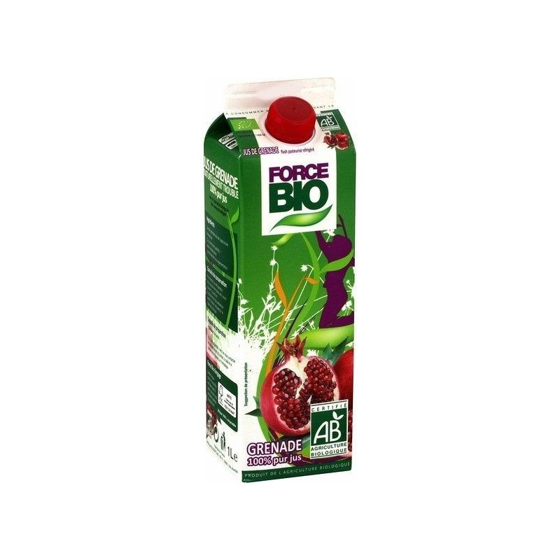 Force Bio Jus de grenade Label Bio 1L