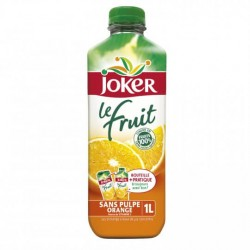 Joker jus d'orange sans pulpe