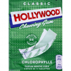 Hollywood chewing gum...