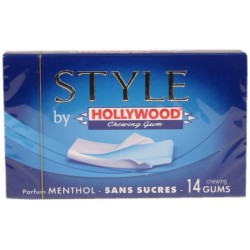 Hollywood Senses sans sucres menthe fraiche 3kcal/tablette x14 1U
