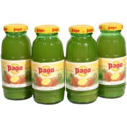 Mini Pago jus d Ananas 100%  -  bouteilles  bouchon